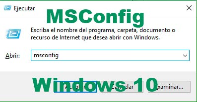 MSConfig Windows 10