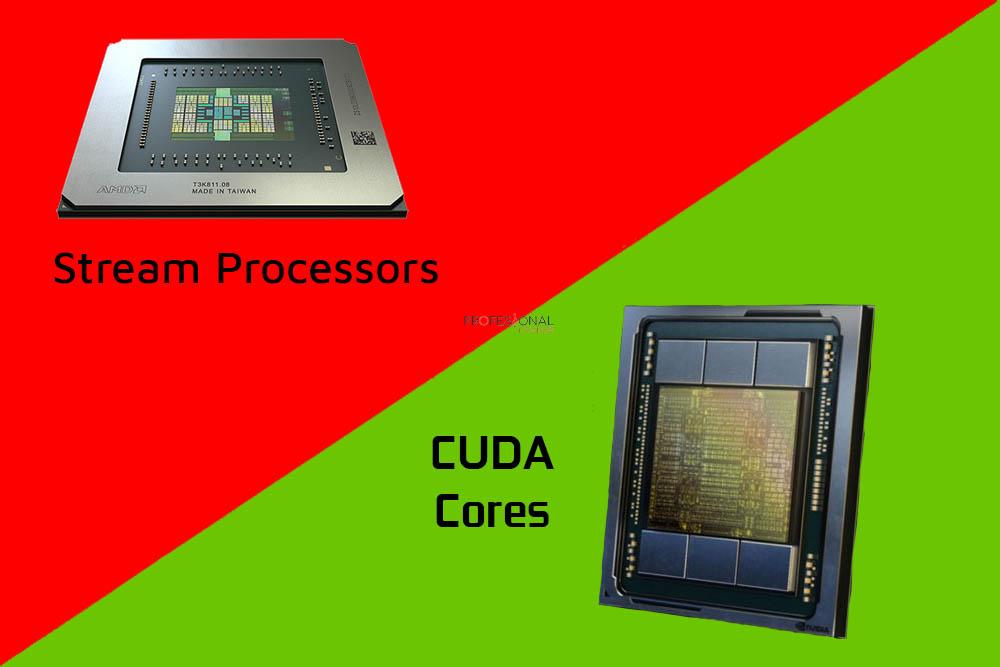 cuda cores vs stream processors