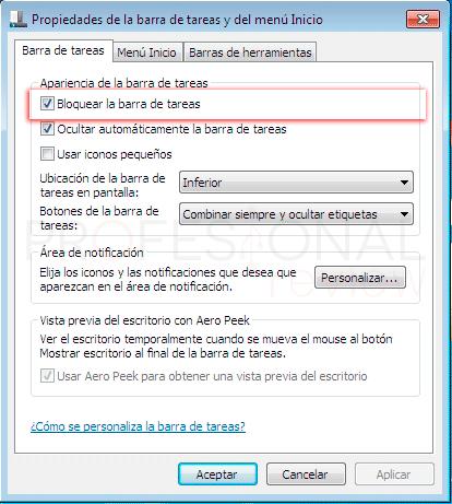 Ocultar barra de tareas en Windows 10 tuto07