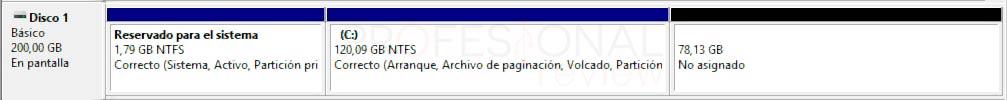 Particionar disco duro Windows 10 p17