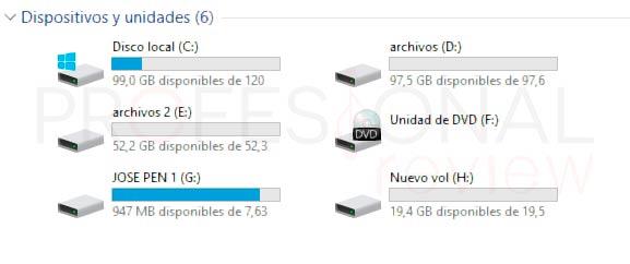 Particionar disco duro Windows 10 p23