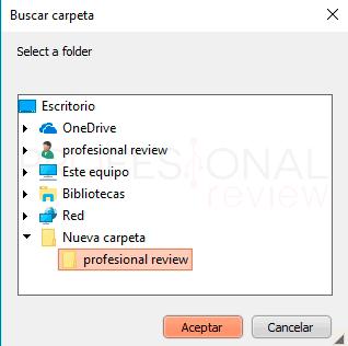 Poner contraseña a una carpeta Windows 10 paso10