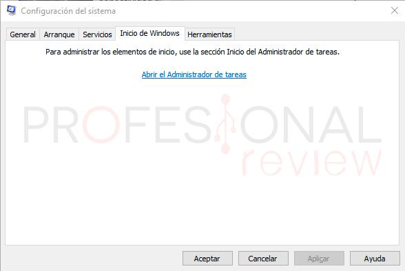 Programas inicio Windows 10 paso01