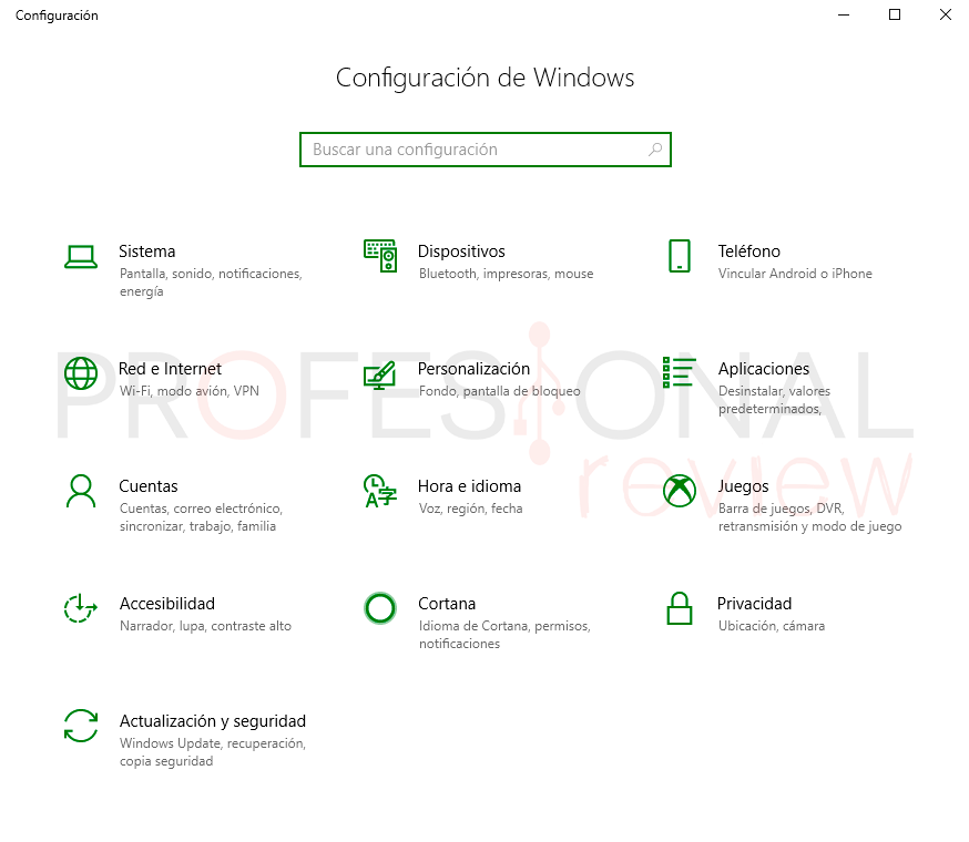 Programas inicio Windows 10 paso02