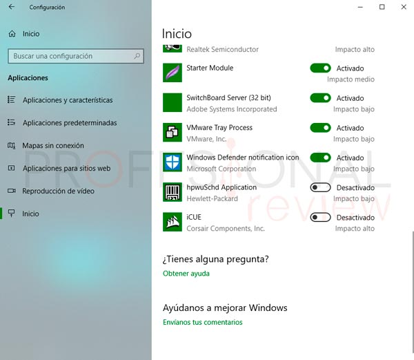 Programas inicio Windows 10 paso05