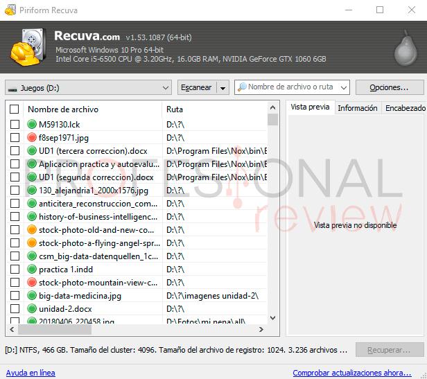 recuperar archivos borrados Windows 10 paso05