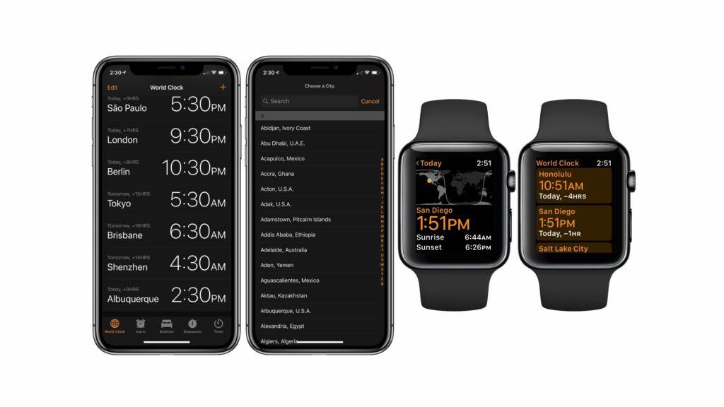 Cómo utilizar el reloj mundial de tu iPhone y Apple Watch