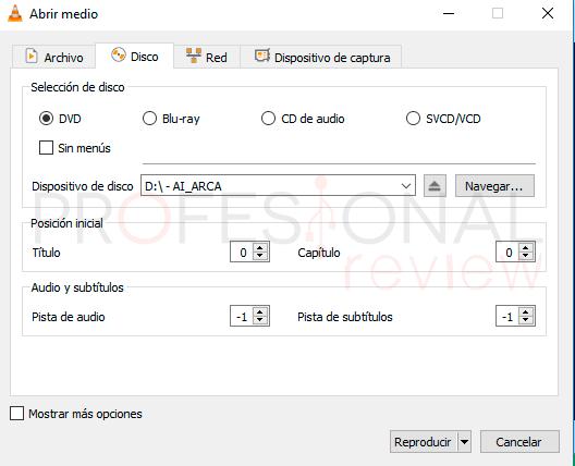 Reproductor DVD Windows 10 paso02