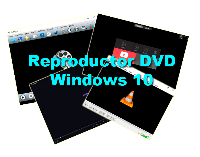 Reproductor DVD Windows 10