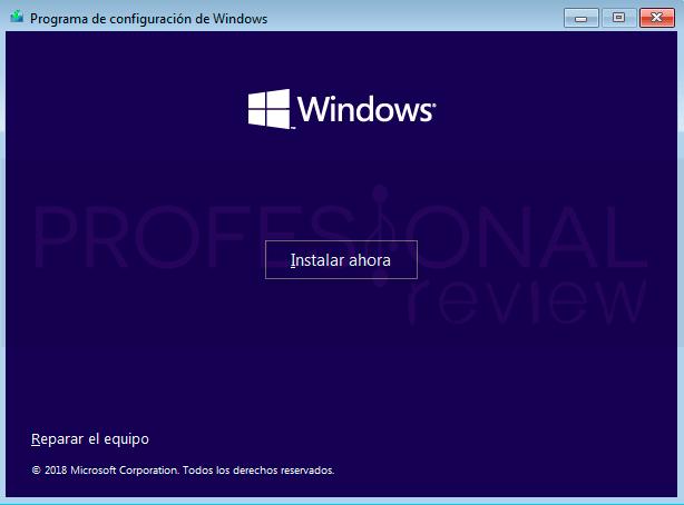 Restaurar Windows 10 paso11