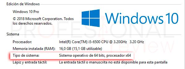 Saber si mi ordenador es de 32 o 64 bits tuto02