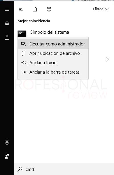 Telnet Windows 10 paso01