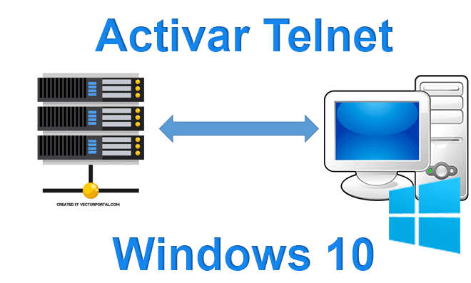 Activar Telnet en Windows 10