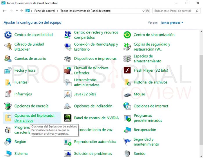 Ver archivos ocultos Windows 10 paso04