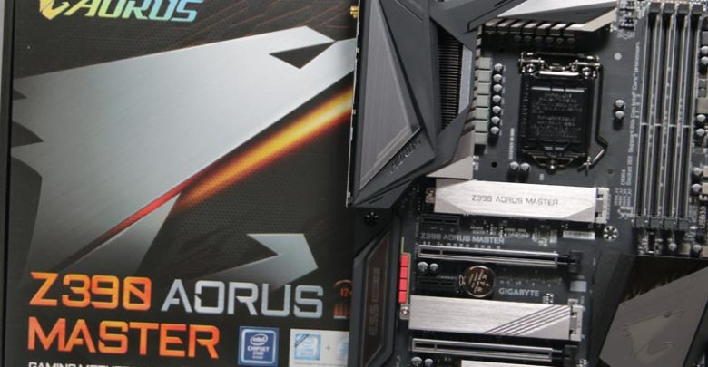 Photo of Z390 Aorus Master Preview