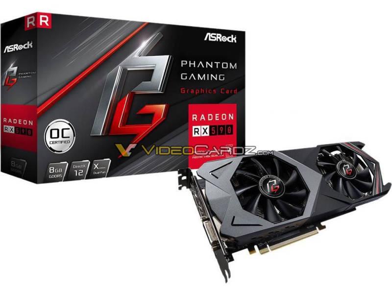 ASRock Radeon RX 590 Phantom Gaming
