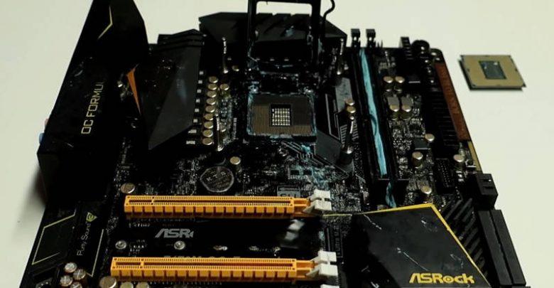 Photo of Core i9 9900K a 5,5 GHz en una ASRock Z170M OC Formula