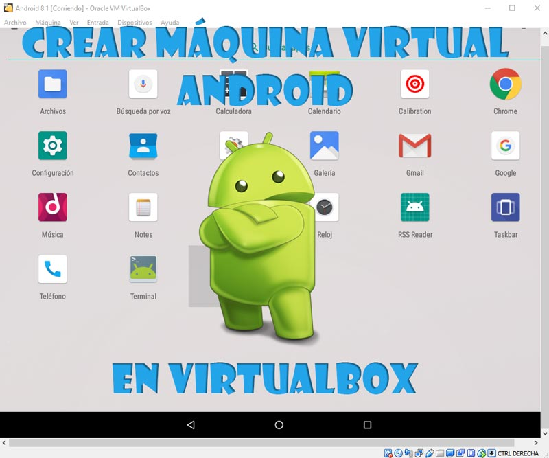 Android en VirtualBox