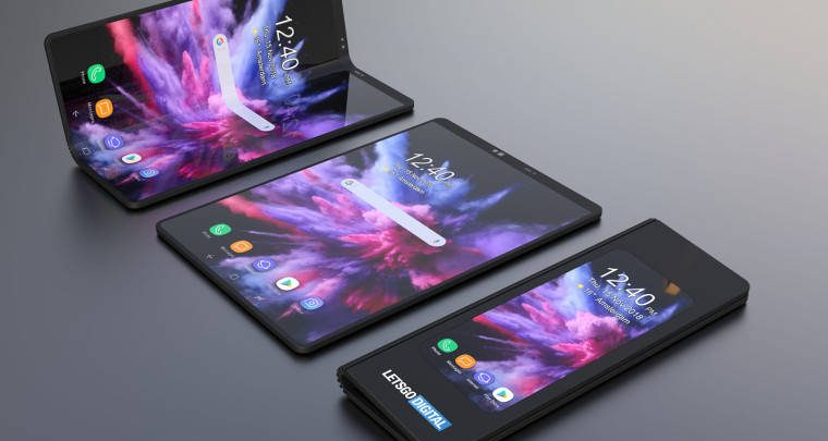 Photo of Letsgodigital crea un render del smartphone plegable de Samsung