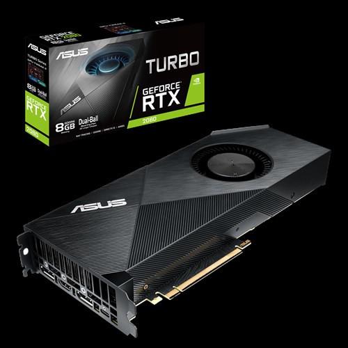 Asus GeForce RTX 2080 Turbo viene con el chip pata negra de Nvidia