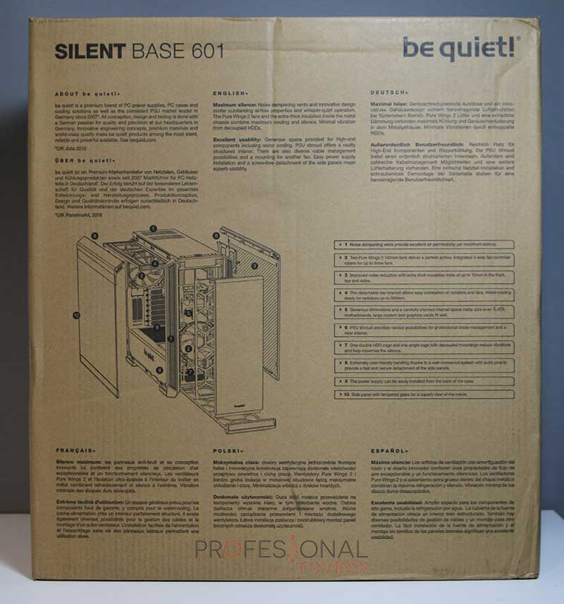 Be quiet Silent Base 601 review