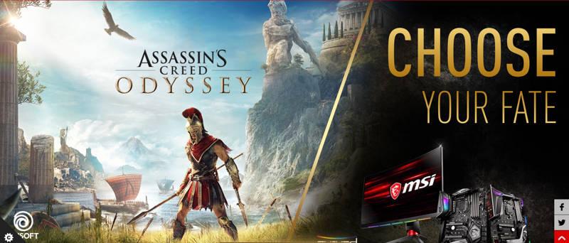 MSI te regala Assassin's Creed Odyssey