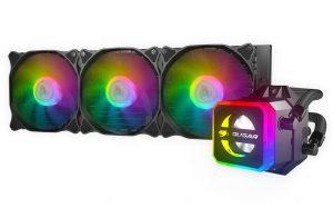 Anunciadas las nuevas líquidas Cougar Helor con mucho RGB