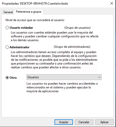 Cuenta invitado Windows 10 tuto06