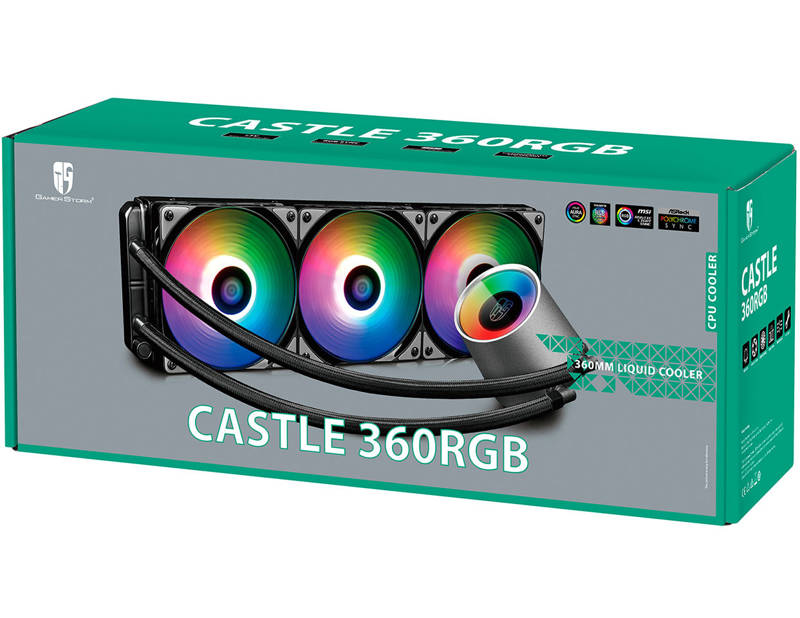 Deepcool lanza GamerStorm Castle 360 RGB