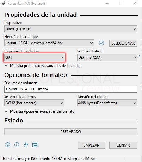 Dual boot de Windows 10 y Ubuntu tuto05