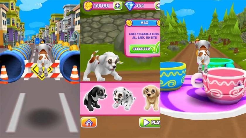 Juegos de perros para smartphone