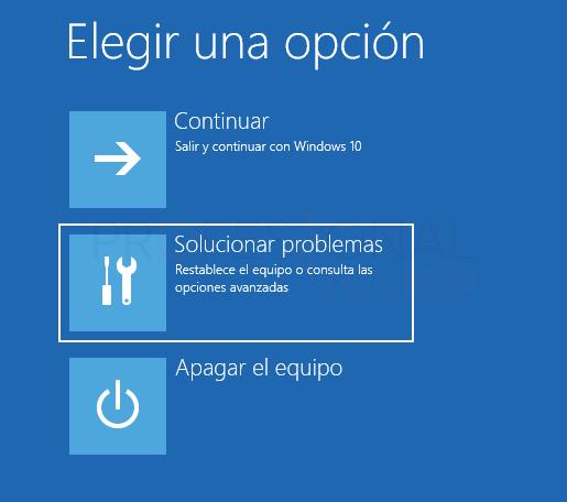 Inaccesible boot device Windows 10 tuto02