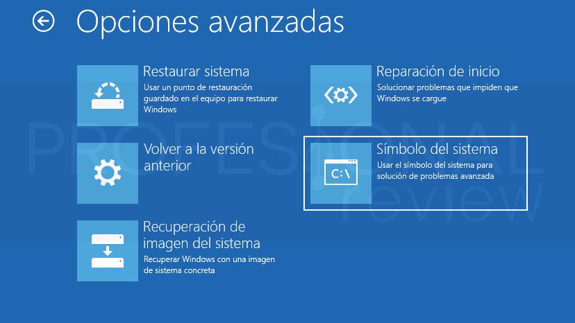 Inaccesible boot device Windows 10 tuto07
