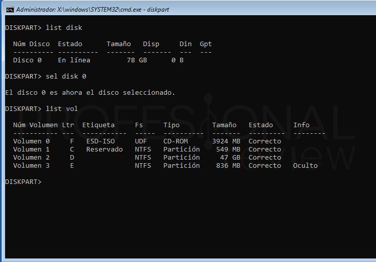 Inaccesible boot device Windows 10 tuto08