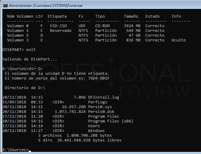 Inaccesible boot device Windows 10 tuto09