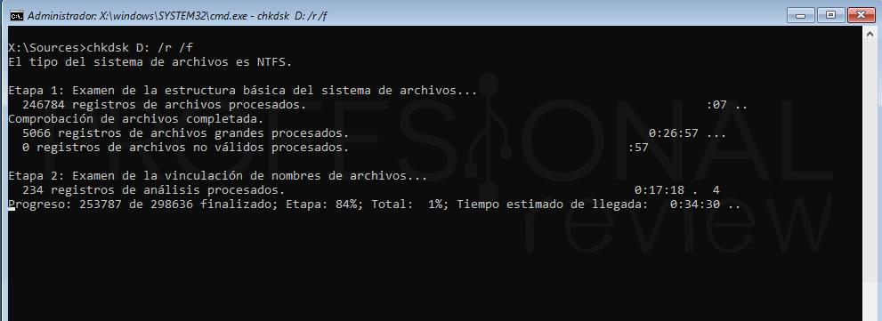 Inaccesible boot device Windows 10 tuto10