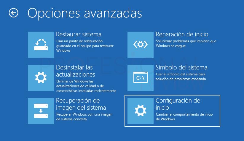 Inaccesible boot device Windows 10 tuto03