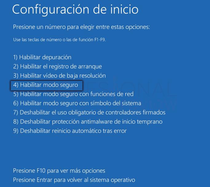 Inaccesible boot device Windows 10 tuto04