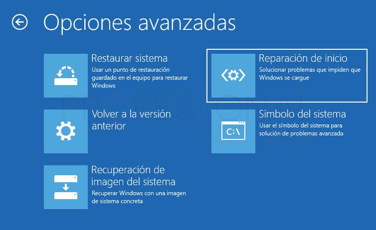 Inaccesible boot device Windows 10 tuto05