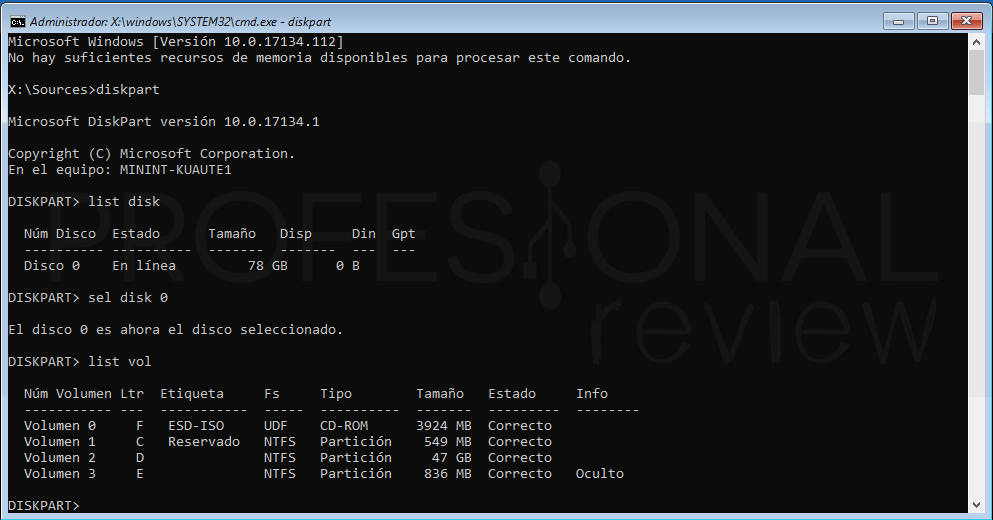 Inaccesible boot device Windows 10 tuto12