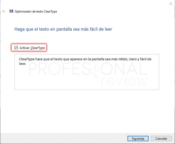 Letras borrosas en Windows 10 tuto07