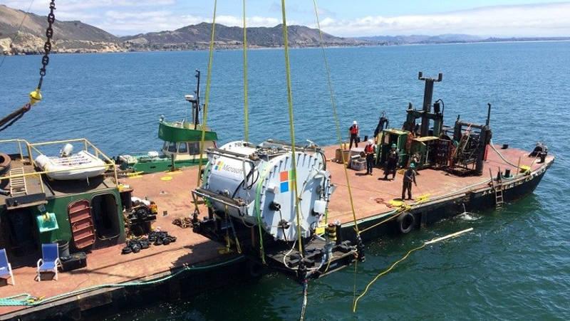 Los centros de datos submarinos son el proyecto de Microsoft