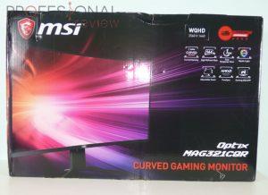 MSI Optix MAG 321CQR Review