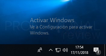 Quitar marca de agua Windows 10 tuto01