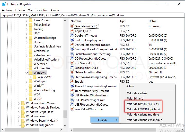 Quitar marca de agua Windows 10 tuto03