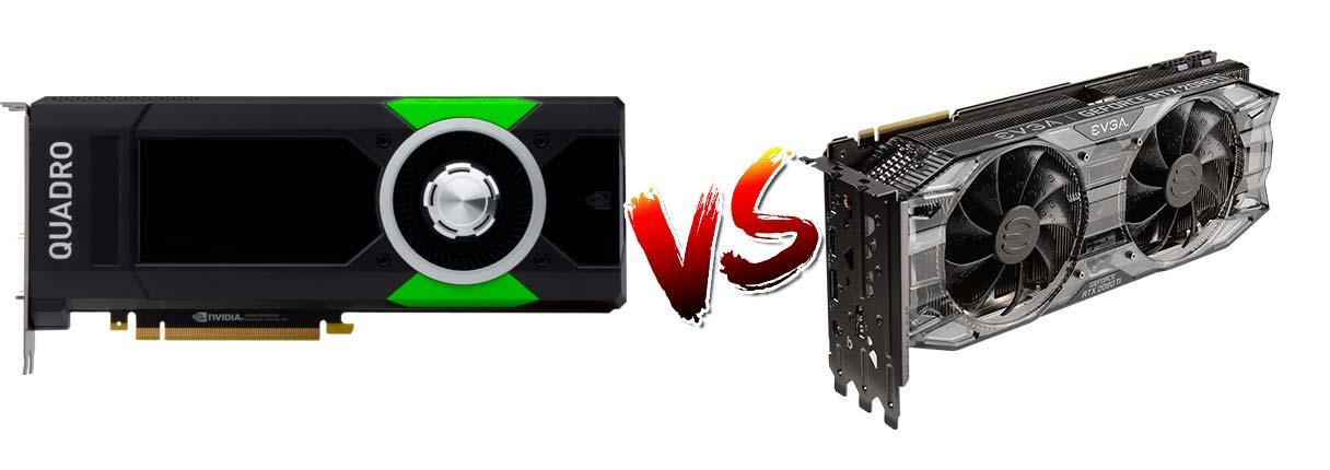 Nvidia RTX vs Nvidia Quadro