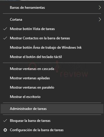 Opciones de carpeta Windows 10 paso 01