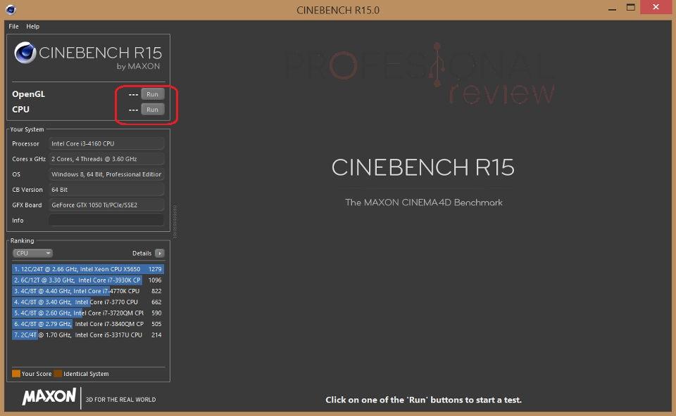 Cinebench: Que es y para que sirve