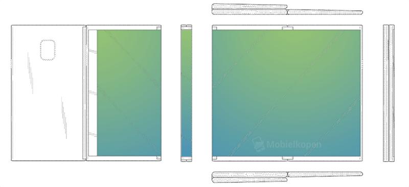 Samsung piensa en una tablet plegable en tres partes