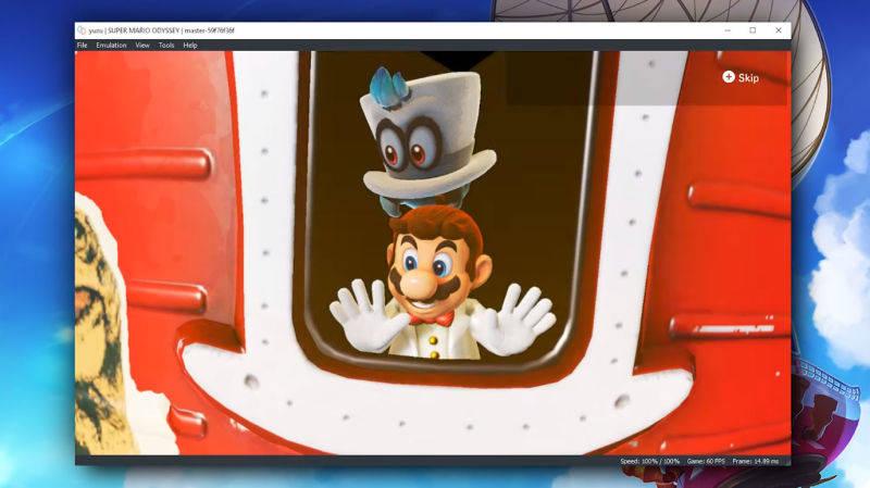 Super Mario Odyssey ya es jugable en PC con Yuzu